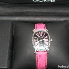 Relojes: RELOJ ITALIANO MARCA GIOVINE ORIGINAL Y CON GARANTIA. Lote 219180956
