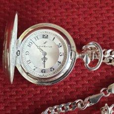 Relojes: RELOJ DE BOLSILLO AEROWATCH PLATA DE LEY DE SEÑORA. Lote 219530513