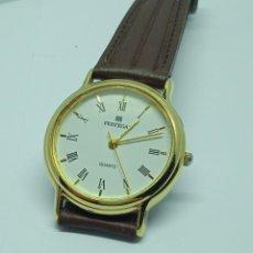 Relojes: RELOJ PERTEGAZ QUARZO CHAPADO ORO.. Lote 220415033