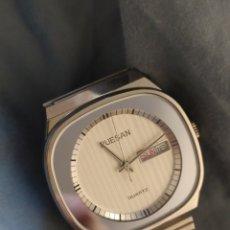 Relojes: RELOJ RUESAN CUARZO NUEVO. AÑOS 80-90. Lote 220819895