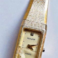 Relojes: RELOJ ACCURIST QUARTZ - CAJA DE 12 X 22.MM ( CRISTAL ROTO - SIN CORONA). Lote 221495796