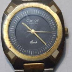 Relojes: RELOJ CABALLERO CANON CRYSTAL DE QUARZO. Lote 221507807