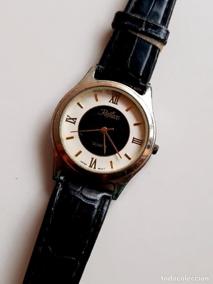 Relojes: RELOJ REFLEX QUARTZ - CAJA DE 35.MM DIAMETRO - Foto 2 - 221511386