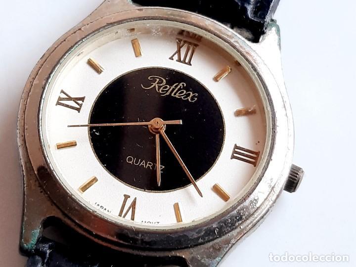 Relojes: RELOJ REFLEX QUARTZ - CAJA DE 35.MM DIAMETRO - Foto 7 - 221511386