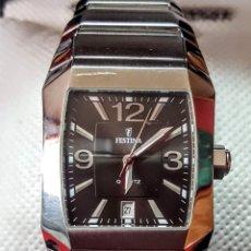 Relojes: RELOJ FESTINA CALENDARIO ALAS 6 CUARZO NUEVO SIN ESTRENAR FUNVIONA PERFECTO LLEVA LA BATERÍA NUEVA C. Lote 221663762