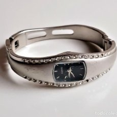 Relógios: RELOJ QUARTZ - CAJA DE 18 X 18.MM (FALTA CORONA). Lote 221677200