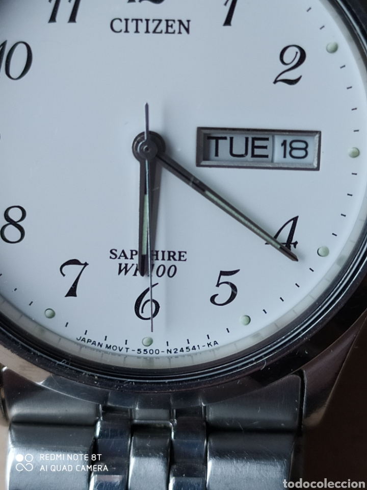 Relojes: Reloj Citizen WR 100 Sapphire - Foto 6 - 221693215