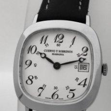 Relojes: CUERVO Y SOBRINOS VINTAGE.. Lote 222084390