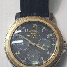 Relojes: RELOJ CABALLERO CAMEL TROPHY MULTIFUNCION 10 AT POCO USO. Lote 222254751