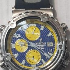 Relojes: RELOJ CRONOGRAFO CABALLERO FESTINA WR 100 METROS SERIE LIMITADA RICHARD VIRENQUE. Lote 222257146