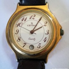 Relojes: RELOJ L'ETOILE- QUARTZ CALENDARIO. Lote 222423296