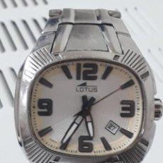 Relojes: RELOJ LOTUS.QUARZ FUNCIONANDO. Lote 222458631