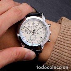 Relojes: RELOJ DEPORTIVO UNISEX GENEVA DIAL QUARTZ DE 40 MM.DE FÁBRICA.NUEVO A ESTRENAR. CORREA SÍMIL PIEL.. Lote 222473357