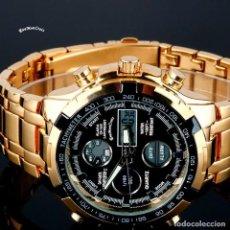 Relojes: RELOJ DUAL TIME CRONOGRAFO NUEVO. Lote 264291148