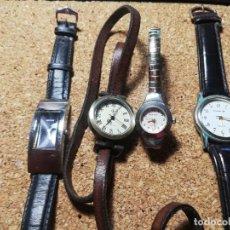 Relojes: LOTE CUATRO RELOJES CUARZO SIN PROBAR. Lote 222667942
