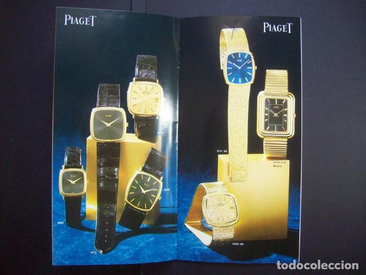 Relojes: TRES CATALOGOS RELOJES PIAGET. AÑOS 70. INCLUYE LISTA DE PRECIOS DE LA EPOCA - Foto 5 - 224216810