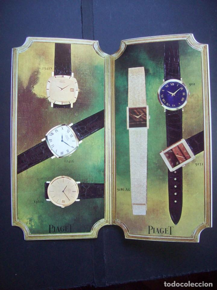 Relojes: TRES CATALOGOS RELOJES PIAGET. AÑOS 70. INCLUYE LISTA DE PRECIOS DE LA EPOCA - Foto 7 - 224216810