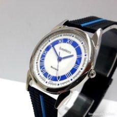 Relojes: BELLO RELOJ MARCA SUPER WATCH AÑOS 80 DE CUARZO Y NUEVO A ESTRENAR. Lote 224228252