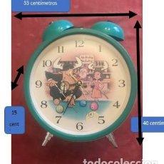 Relojes: GRAN RELOJ DE MESA A PILAS ACRISTALADO.. Lote 224334497