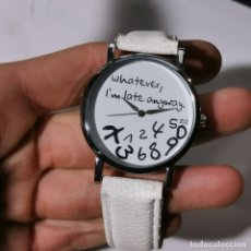 Relojes: RELOJ MODERNO QUARTZ - NUEVO - SOLO HACE FALTA PONER PILA. Lote 224630808