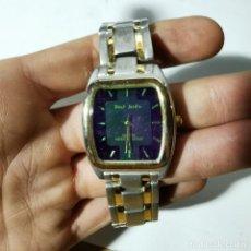 Relojes: RELOJ MODERNO QUARTZ - PAUL JARDIN - WATER RESISTANT - STAINLESS STEEL - NO SABEMOS SI FUNCIONA. Lote 224631795