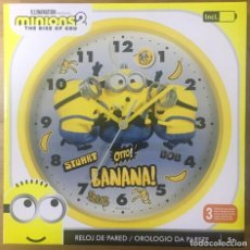 Relojes: RELOJ PARED MINIONS 2. Lote 224671616