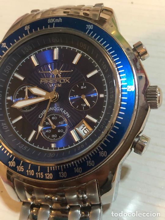 Relojes: PRECIOSO RELOJ FIREFOX CABALLEROS CRONOGRAFO EN PERFECTO ESTADO, VER FOTOS - Foto 2 - 224716777