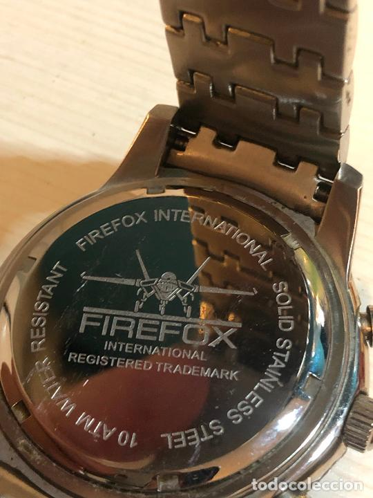 Relojes: PRECIOSO RELOJ FIREFOX CABALLEROS CRONOGRAFO EN PERFECTO ESTADO, VER FOTOS - Foto 3 - 224716777