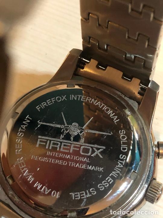 Relojes: PRECIOSO RELOJ FIREFOX CABALLEROS CRONOGRAFO EN PERFECTO ESTADO, VER FOTOS - Foto 4 - 224716777