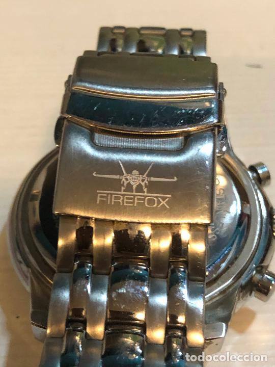 Relojes: PRECIOSO RELOJ FIREFOX CABALLEROS CRONOGRAFO EN PERFECTO ESTADO, VER FOTOS - Foto 6 - 224716777