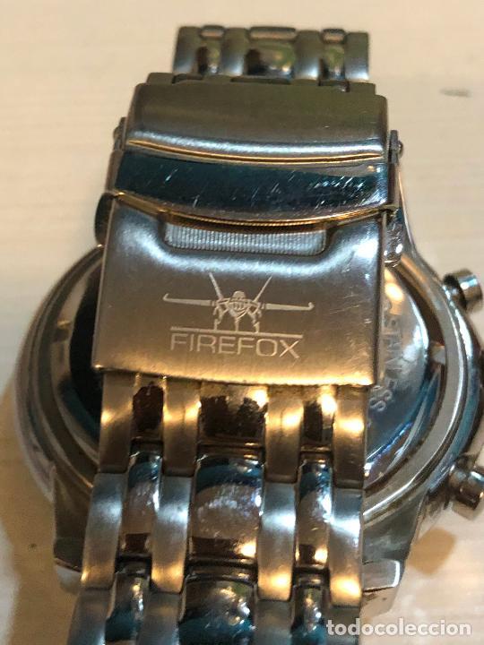 Relojes: PRECIOSO RELOJ FIREFOX CABALLEROS CRONOGRAFO EN PERFECTO ESTADO, VER FOTOS - Foto 7 - 224716777