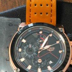 Relojes: PRECIOSO RELOJ LIGE CRONOGRAFO BONITA ESFERA, NUEVO. VER FOTOS. Lote 224718706
