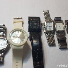 Relojes: RELOJES DE CABALLERO LOTE 6 THERMIDOR,ANDRE MONIQUE ETC. Lote 224720087