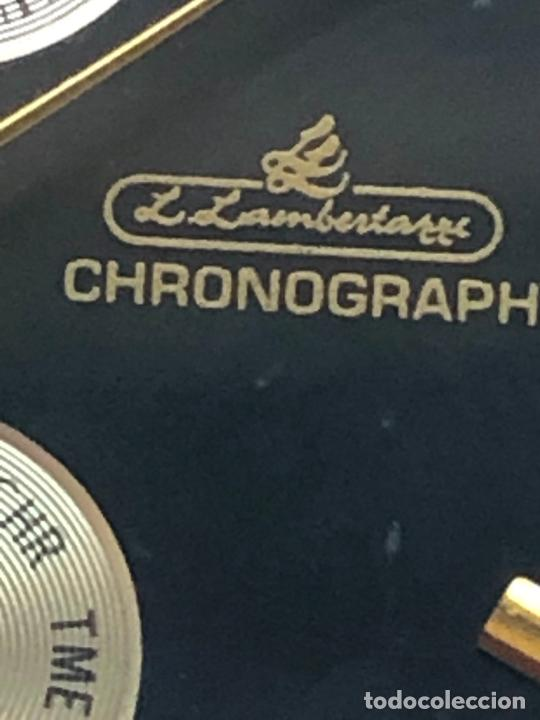 Relojes: RELOJ L.LAMBERTAZZI CRONOGRAFO BIMETÁLICO EN FUNCIONAMIENTO. VER FOTOS - Foto 4 - 224786376