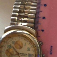 Relojes: ANTIGUO RELOJ MORITA CRONOGRAFO EN FUNCIONAMIENTO. VER FOTOS. Lote 224888347