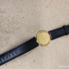 Relojes: RELOJ MAURICE LOCROIX QUARTZ EXTRAPLANO CAJA CHAPADA. Lote 224969075
