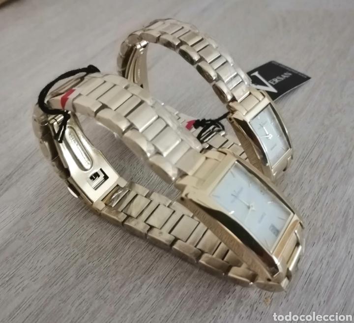 Relojes: Pareja de relojes. Paul Versan. Nuevos. ENVIO GRATIS. - Foto 3 - 225231740