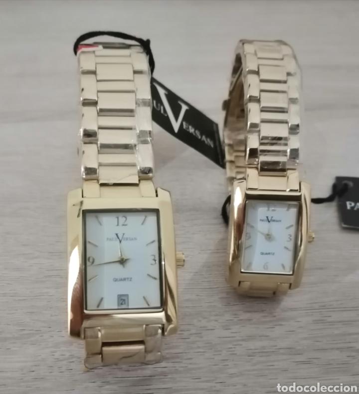 Relojes: Pareja de relojes. Paul Versan. Nuevos. ENVIO GRATIS. - Foto 5 - 225231740
