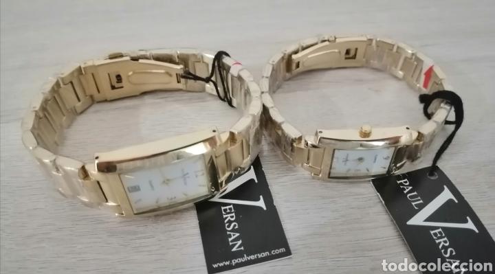 Relojes: Pareja de relojes. Paul Versan. Nuevos. ENVIO GRATIS. - Foto 6 - 225231740