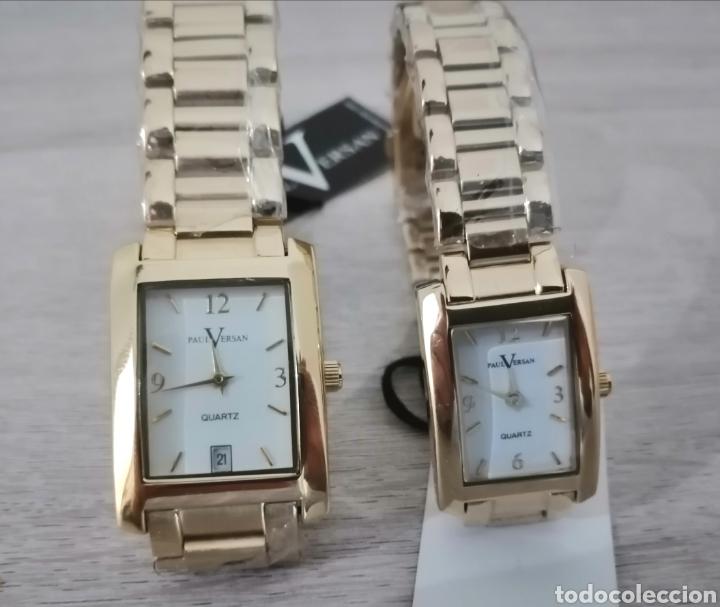 Relojes: Pareja de relojes. Paul Versan. Nuevos. ENVIO GRATIS. - Foto 7 - 225231740