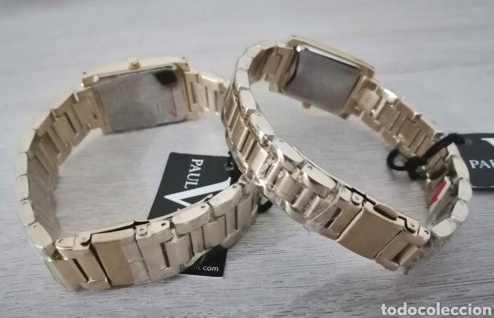 Relojes: Pareja de relojes. Paul Versan. Nuevos. ENVIO GRATIS. - Foto 8 - 225231740