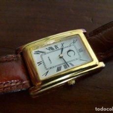 Relojes: RELOJ CUARZO SWISS DESIGN 1 MICRON GOLD. Lote 225488660