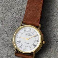 Relojes: RELOJ CORTEFIEL CLASSIQUE SWISS 583G CHAPADO DE ORO 18K. Lote 225555670
