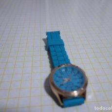 Relojes: RELOJ GIORGIE AZUL. WATER RESISTENT. QUARTZ. Lote 225647650