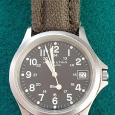 Relojes: RELOJ HAMILTON KHAKI QUARTZ. Lote 226217298