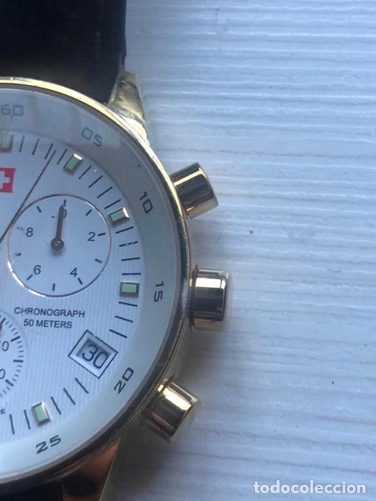 Relojes: PRECIOSO RELOJ CABALLERO CRONOGRAFO SWISS MILITARY RARO Y CURIOSO. VER FOTOS - Foto 5 - 226584761