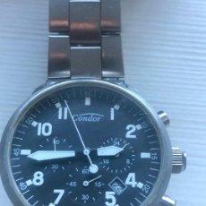 Relojes: PRECIOSO RELOJ CONDOR AVIADOR CRONOGRAFO CABALLEROS VER FOTOS.. Lote 226586830