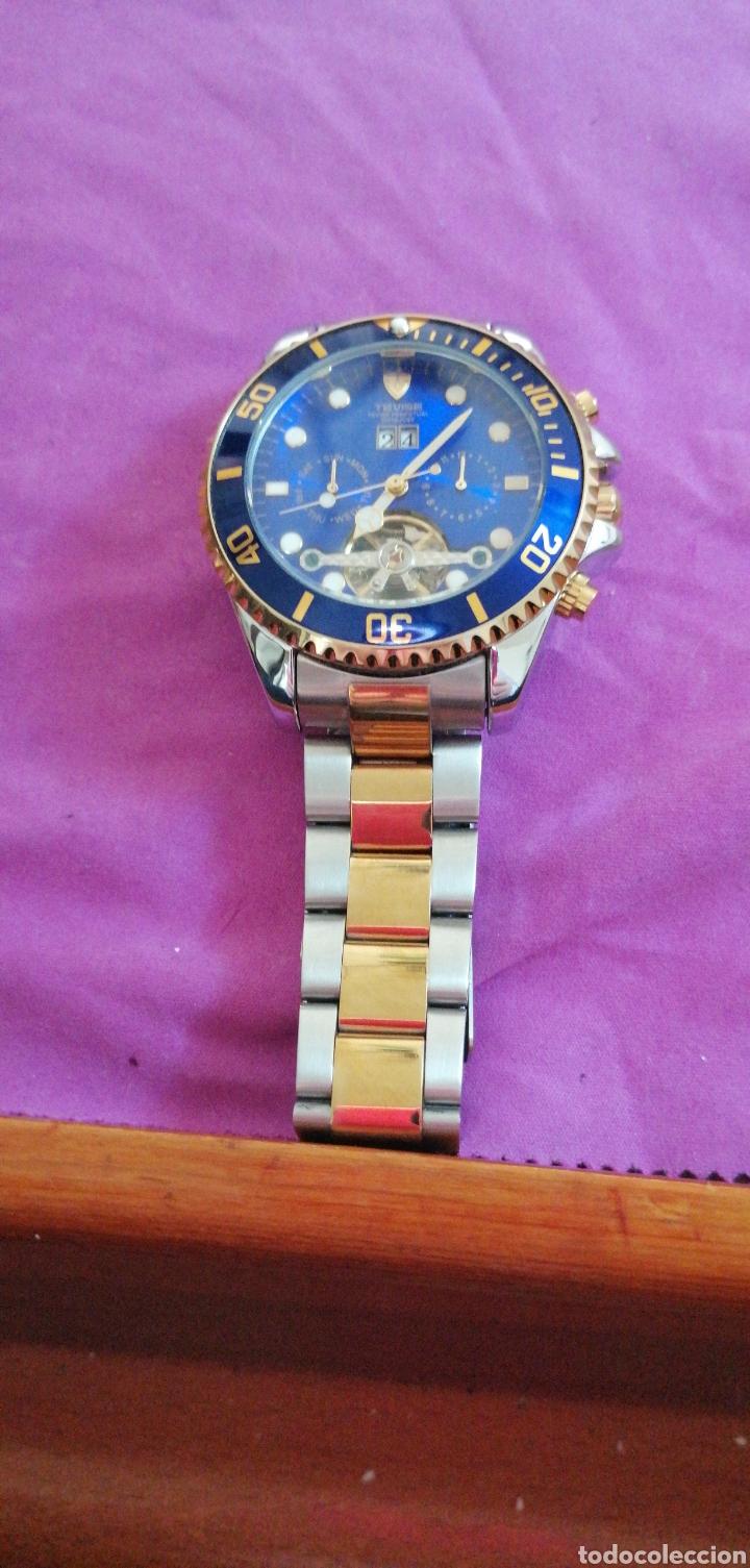 Relojes: RELOJ DE PULSERA MARCA TEVISE AUTOMÁTICO ESTILO ROLEX - Foto 2 - 227677844