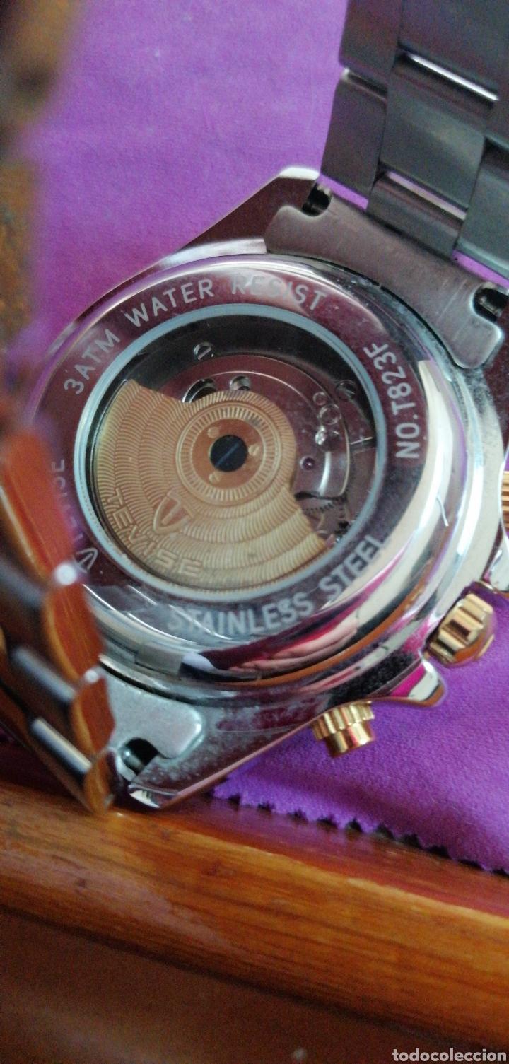 Relojes: RELOJ DE PULSERA MARCA TEVISE AUTOMÁTICO ESTILO ROLEX - Foto 4 - 227677844