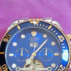 Relojes: RELOJ DE PULSERA MARCA TEVISE AUTOMÁTICO ESTILO ROLEX. Lote 227677844
